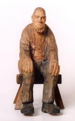 Allmogedans  [Skulptur]