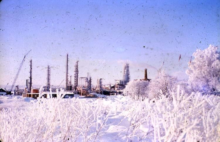 Vintern 1962-63. Krackern från öster.