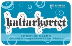 Besøkende mellom 16 og 22 år som har Hedmarks «Kulturkort for ungdom» kommer inn på museet for barnebillett.