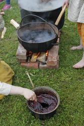 Garnfarging vikingleir