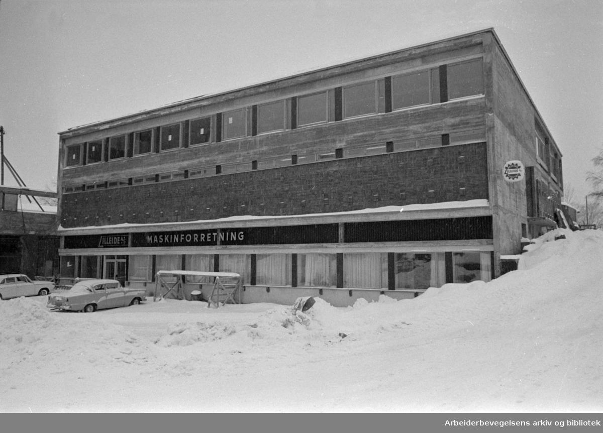 Lilleaker. Februar 1967
