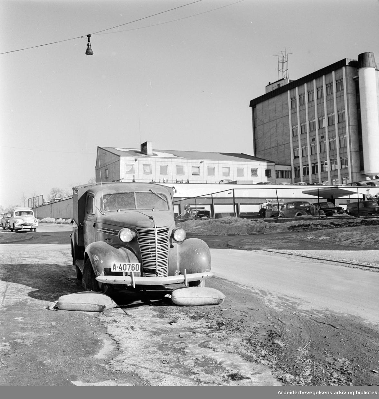 Kyrre Grepps gate. Mars 1963