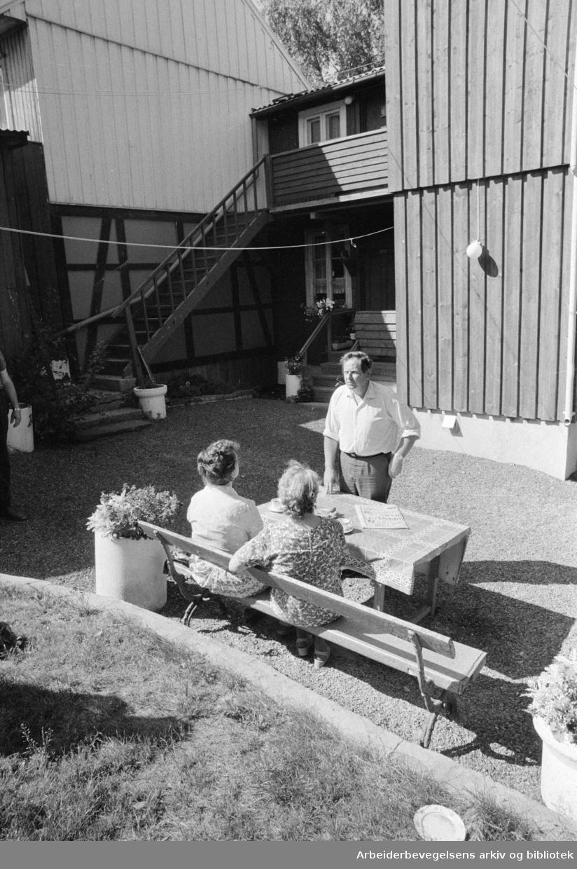 Kampen. Gamle gårder. August 1975