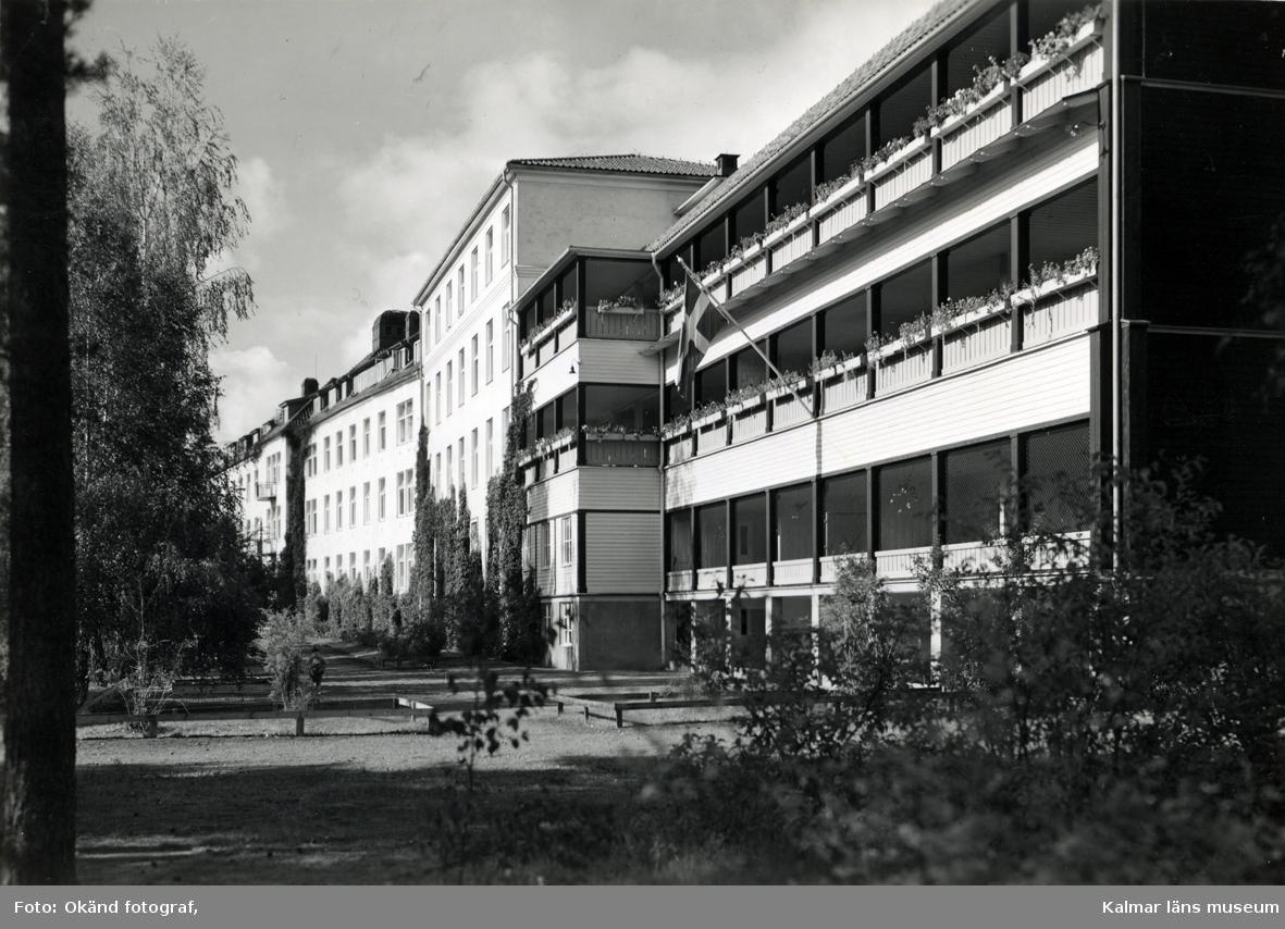 Sanatoriet i Målilla.