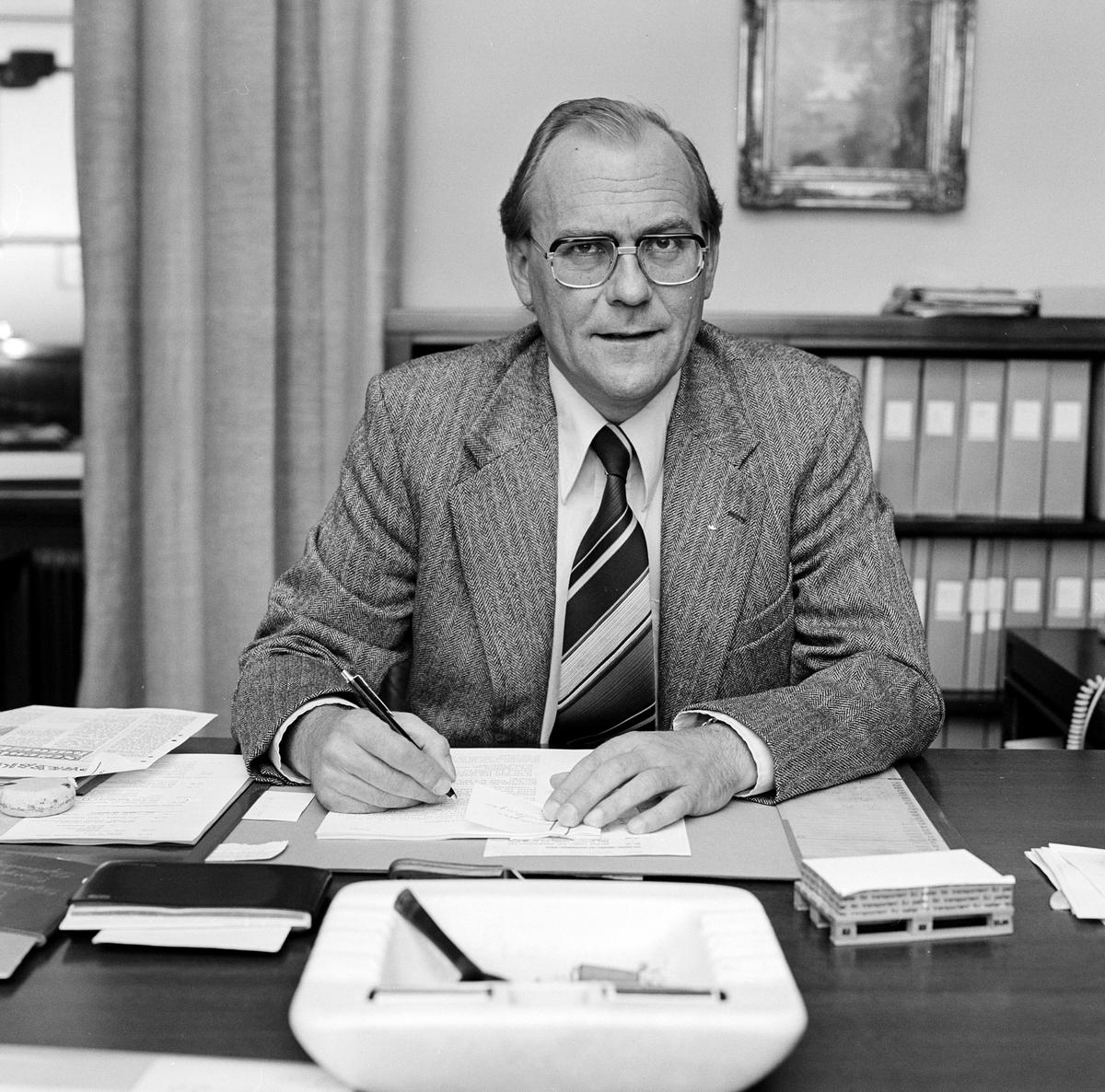 Statens Järnvägar SJ Genraldirektör Bengt Furbäck.