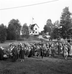 Pensionärsfest i Värstaparken, Värstaborg, Njurunda.