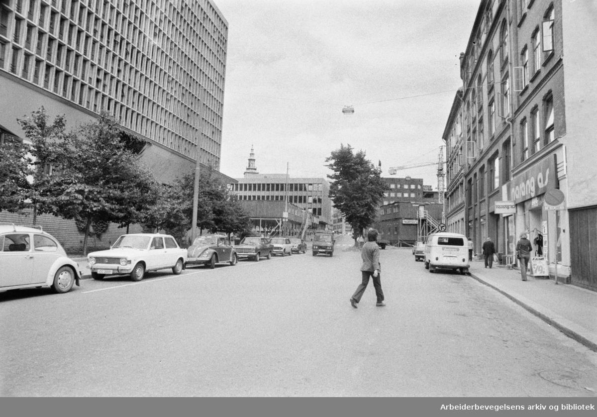 Grubbegata. September 1976