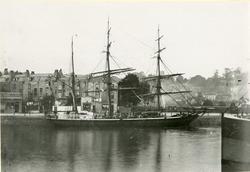 Bark 'Catharina' (ex 'Catharina II')(b.1868, P. Wullum, Hevn