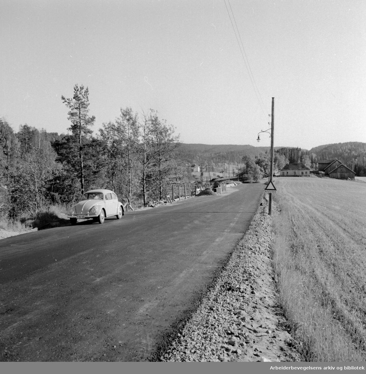 Enebakkveien. September 1959