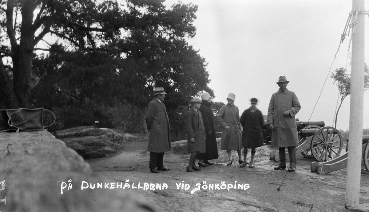 Bilsemester 1928 - Kanonberget, Stadsparken, Jönköping
