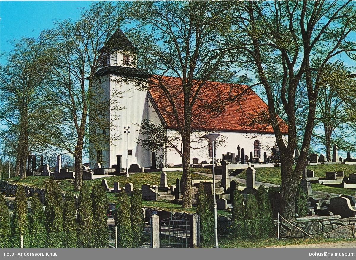 """Text till bilden: """"Romelanda kyrka""""."""
