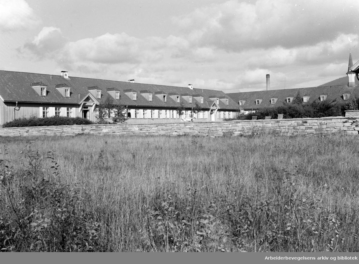 Attføringsinstituttet på Sinsen. Oktober 1947
