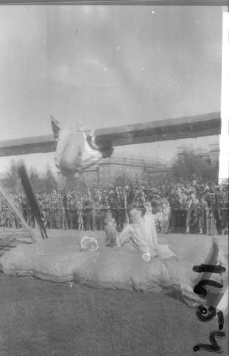 Regementets Dag 1956, A 6, Jönköping. Rocksjövallen. Patrulltävlan.