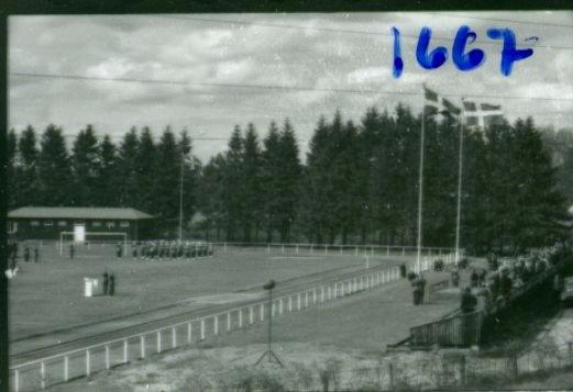 Regementets Dag 1958, A 6, Jönköping. Rocksjövallen.