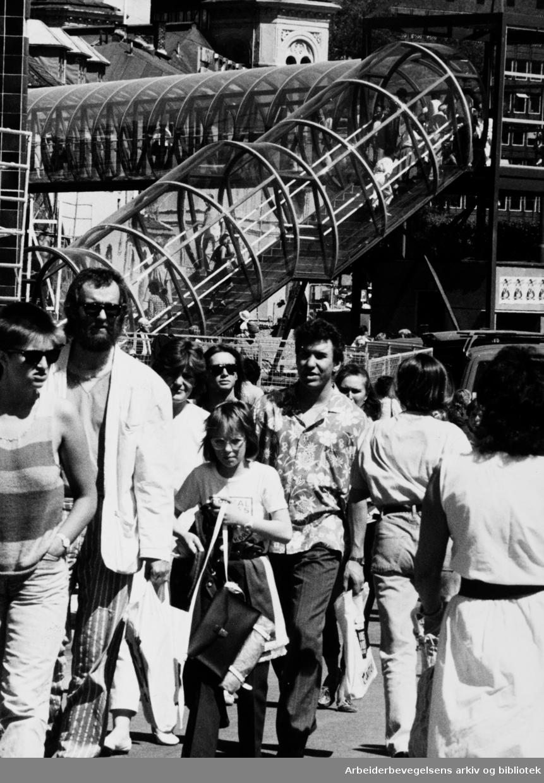 Aker brygge. Juni 1986