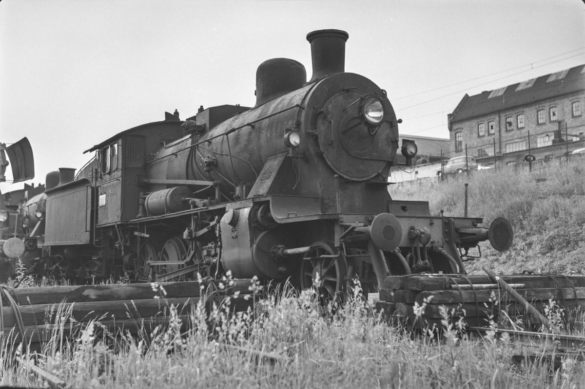 Utrangert damplokomotiv type 24c nr. 405 i Lodalen i Oslo.