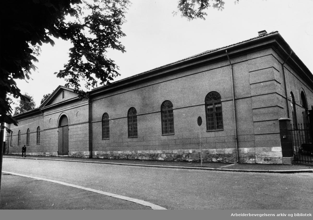 Akershus Festning. 17. september 1971