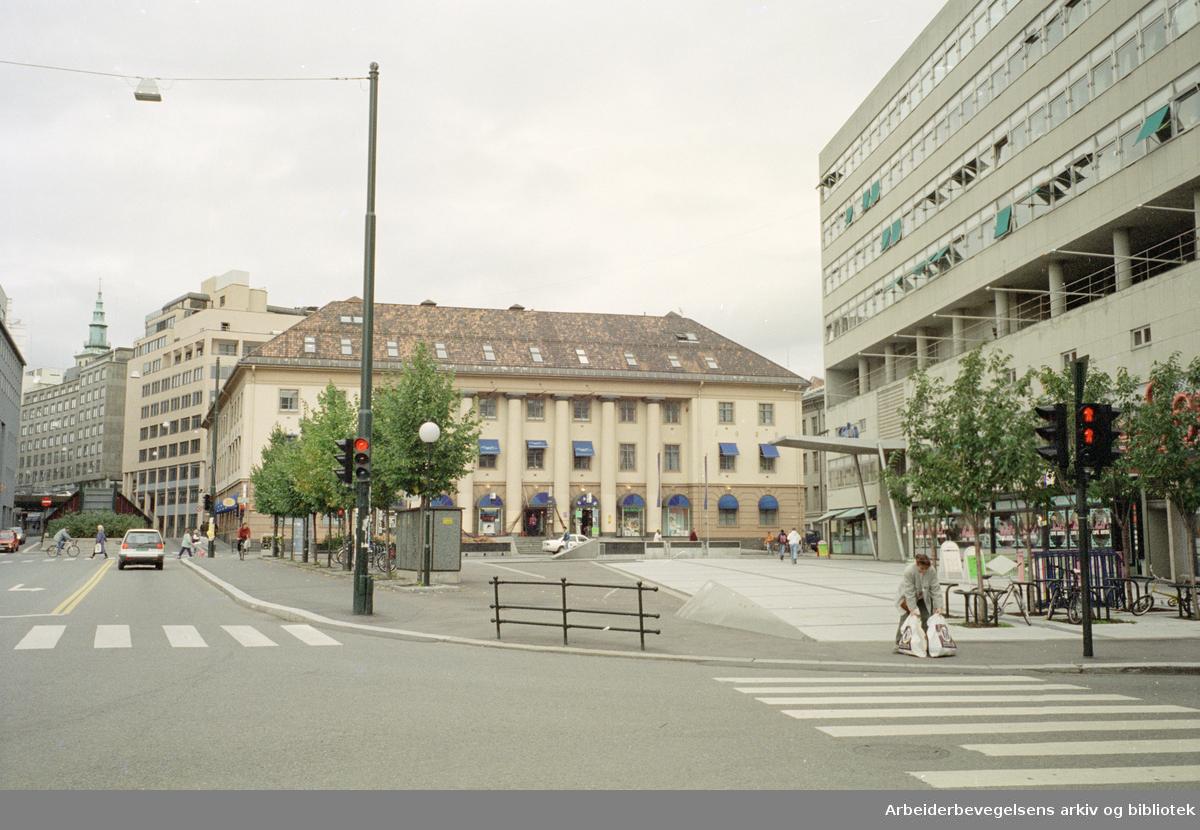 Arbeidersamfunnets plass. September 1994