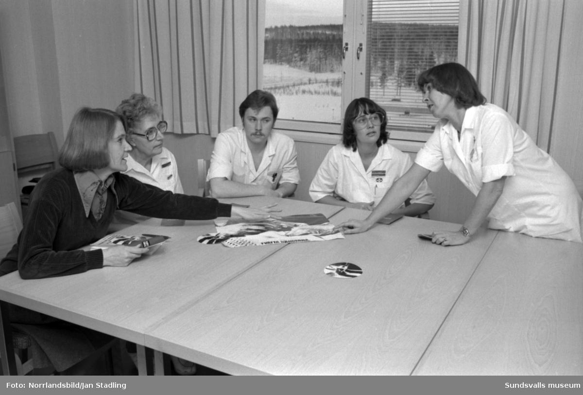 Personal vid kirurgavdelningen 16 B vid Sundsvalls sjukhus.