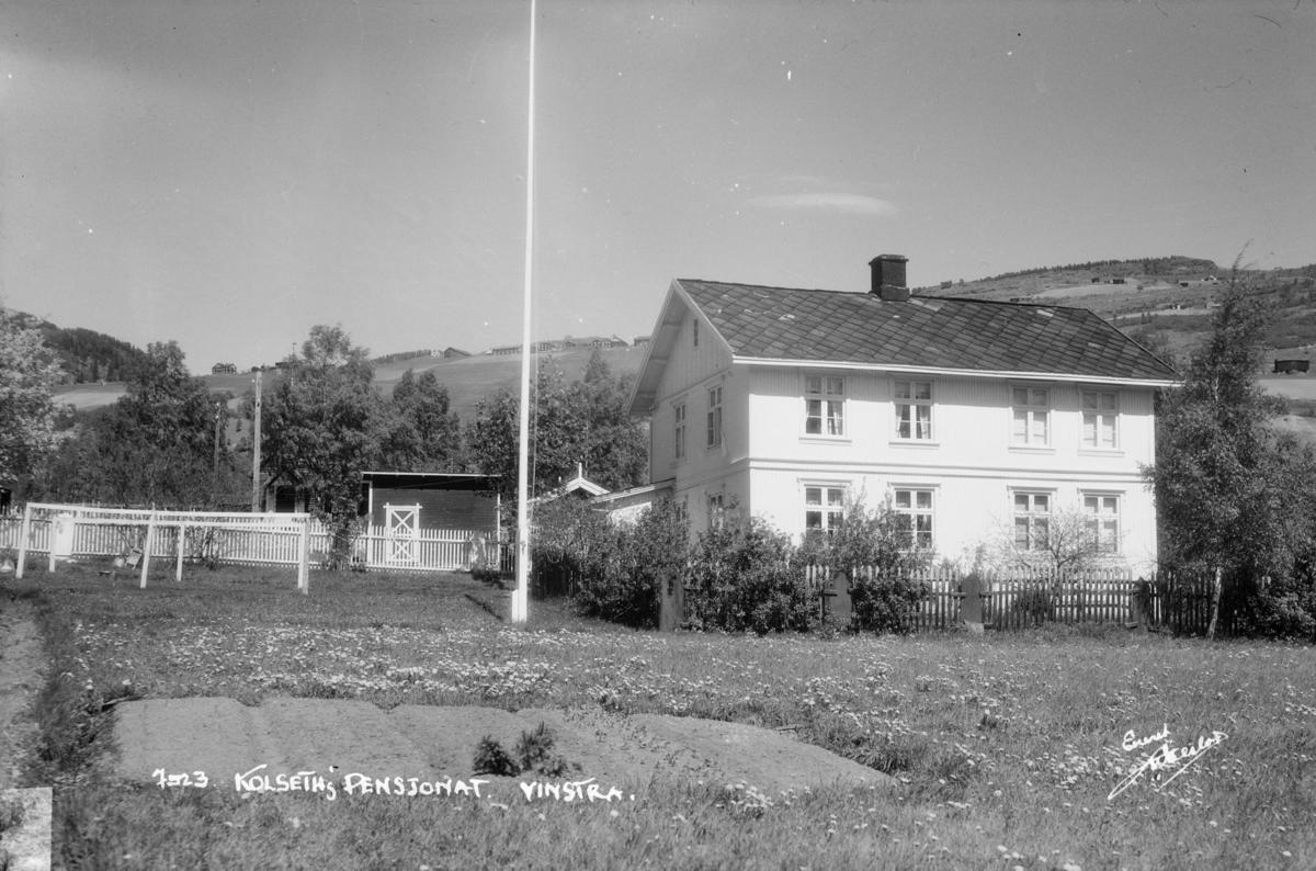 Nord-Fron. Kolseths pensjonat på Vinstra.