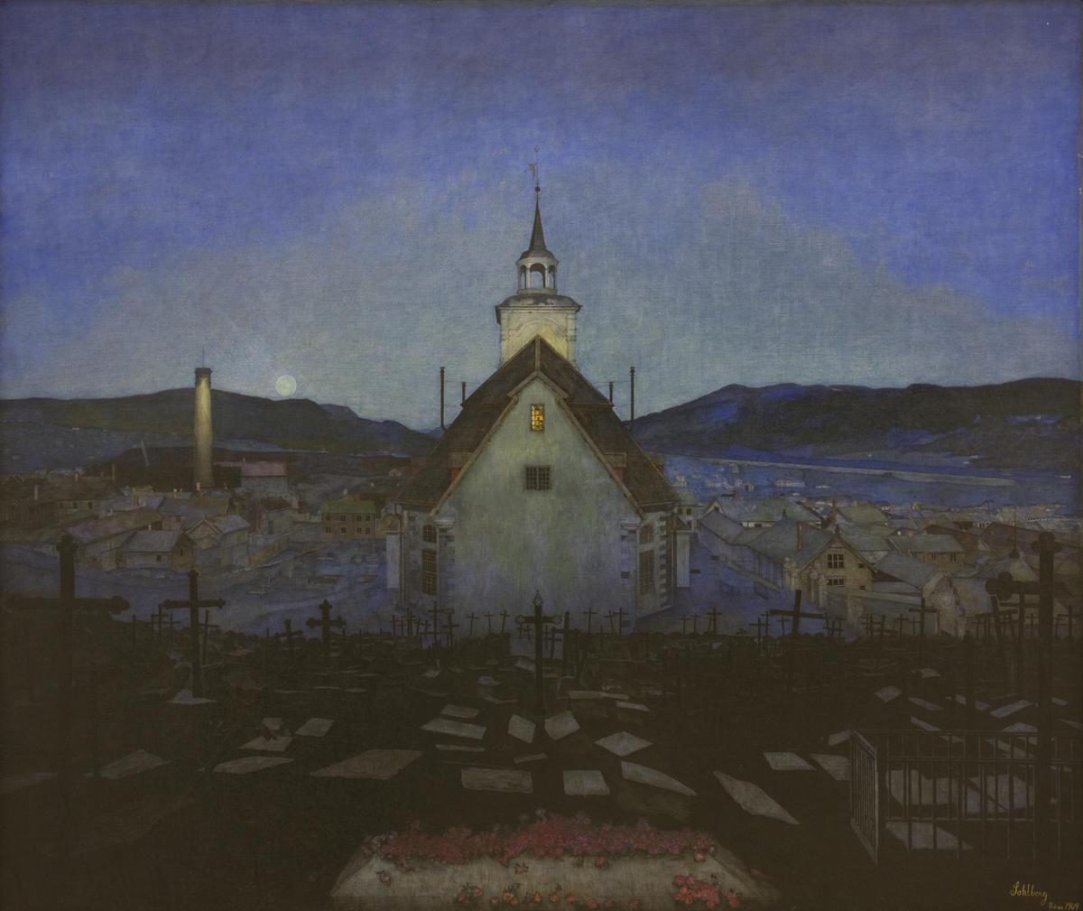 TKM-143-1904_Sohlberg_Harald_Rros_kirke_1904.tif