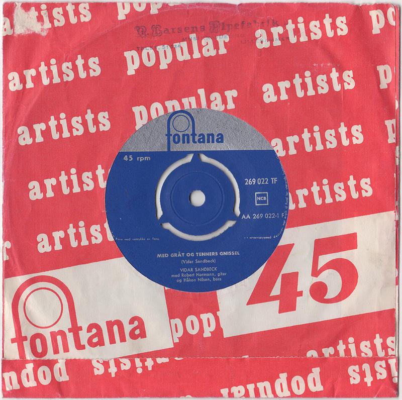 Vidar Sandbeck single nr. 11
