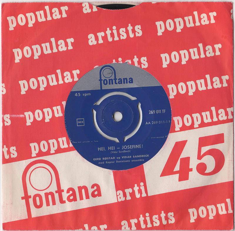 Vidar Sandbeck single nr. 3