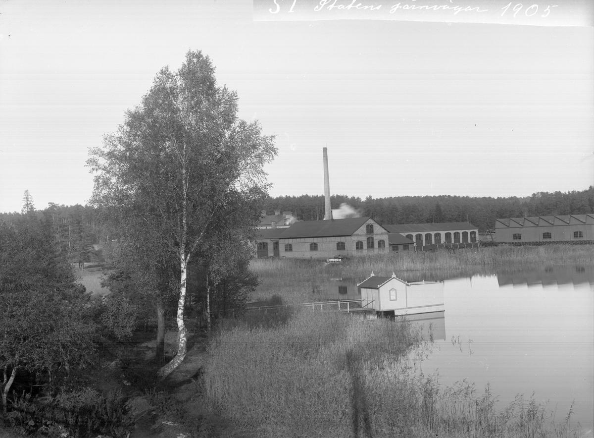 Vagnsfabriks-Aktiebolaget, Vabis, i Södertälje.