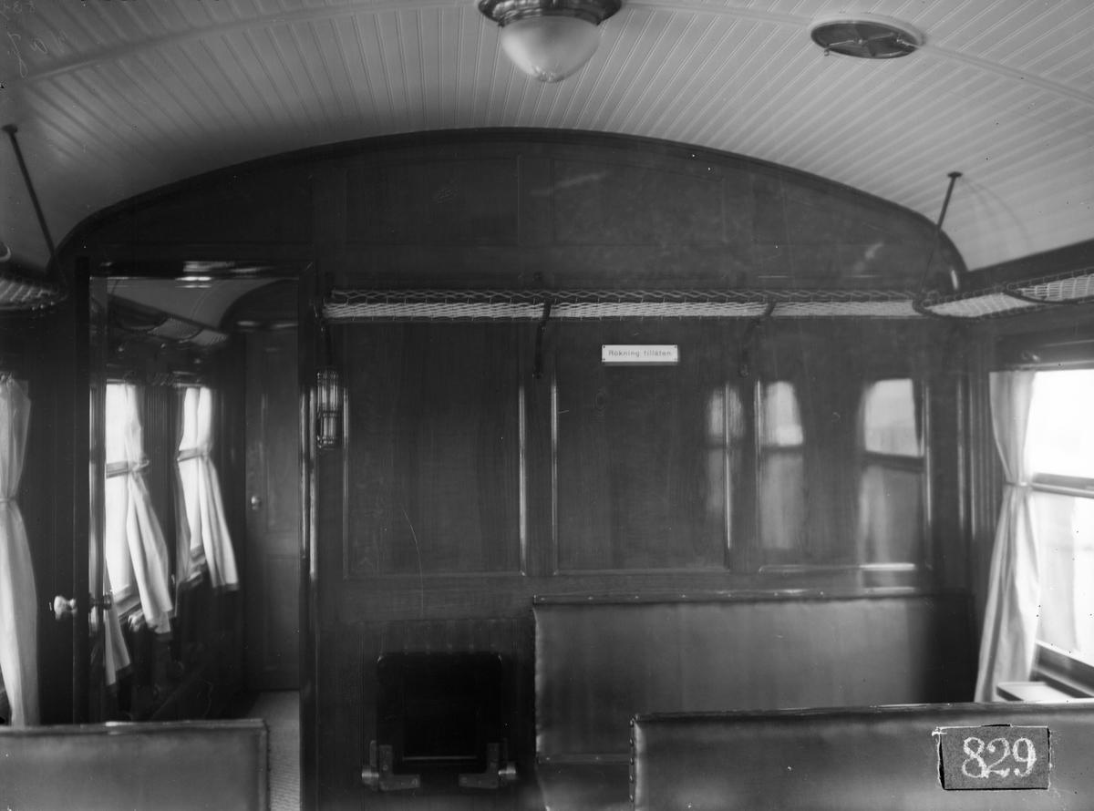 Växjö - Alvesta Järnväg, WAJ BCo 1. Vagn byggd i Linköping 1928.