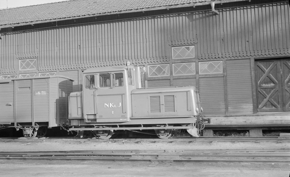 Nordmark - Klarälvens Järnvägar, NKlJ lokomotor 2.