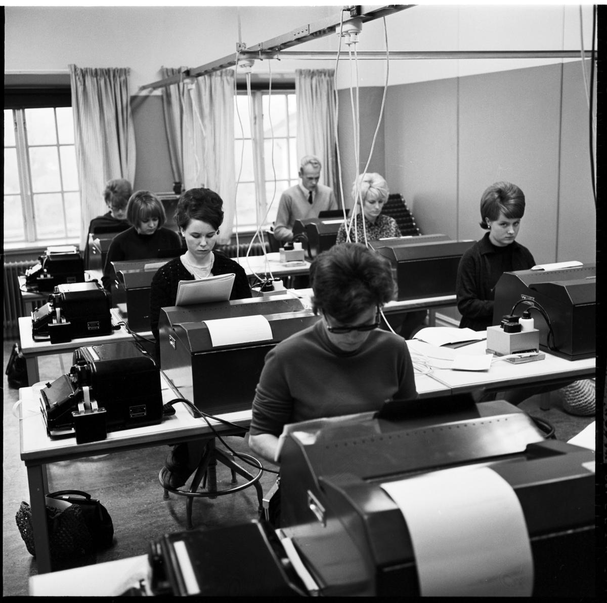 Järnvägsskolan Ängelholm, telexundervisning