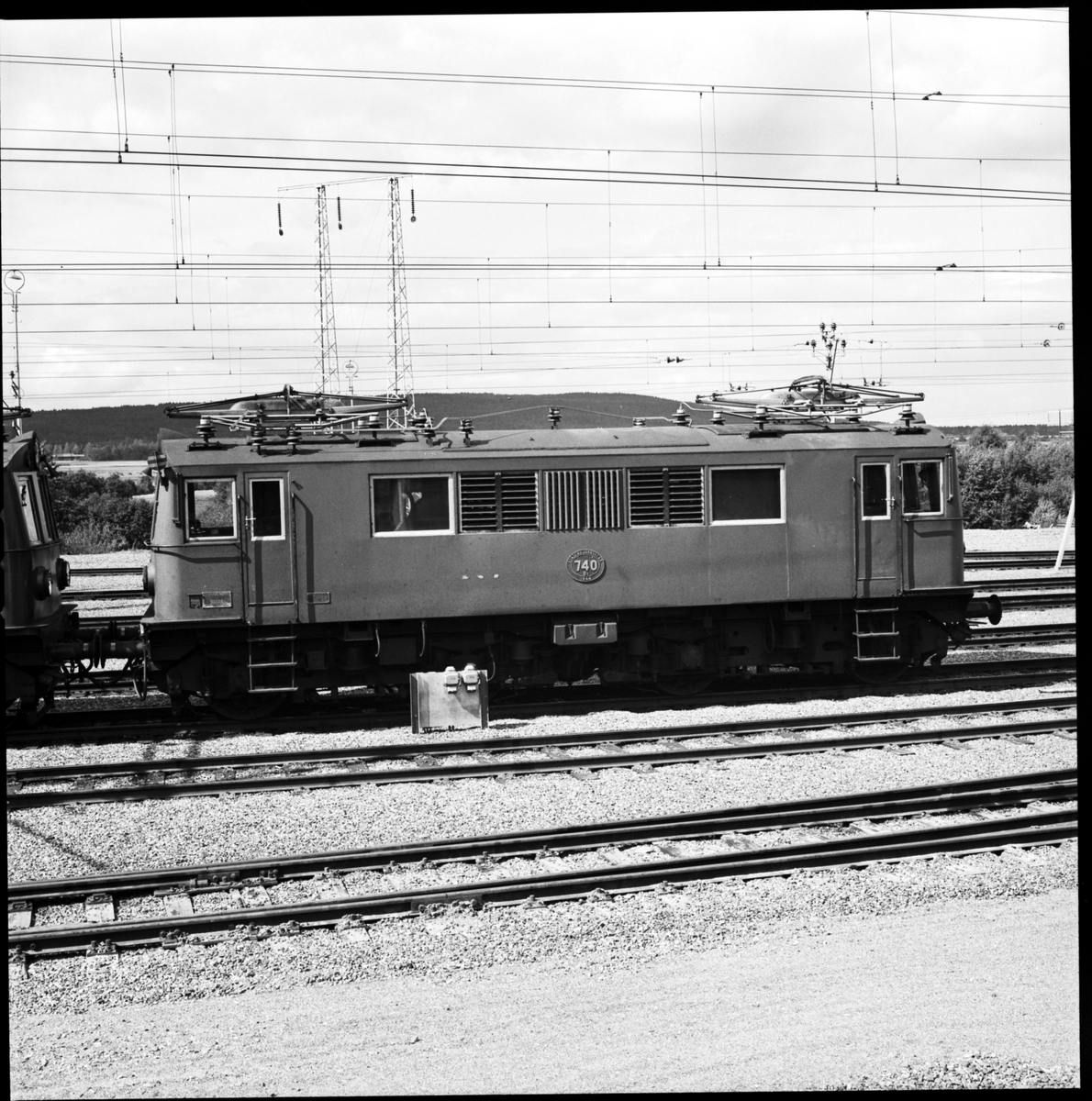 Från 1948 SJ Bk 740 tidigare BJ O 220