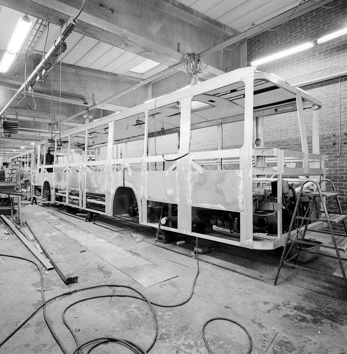 Busstillverkning i Säffle. Höglund & Co, Säffle.