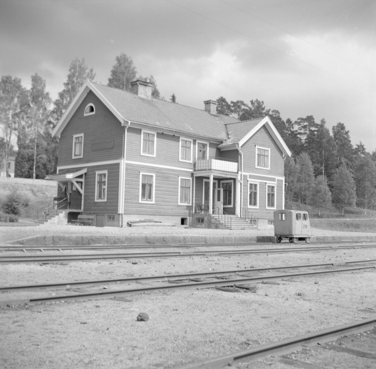 Statens Järnvägar, SJ MD 2708 Riddarhyttan station