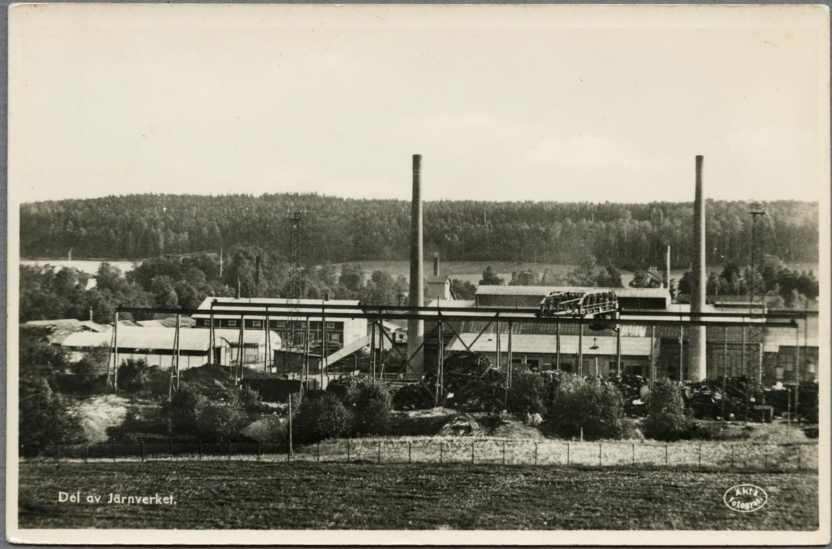 Del av Bångbro järnverk.