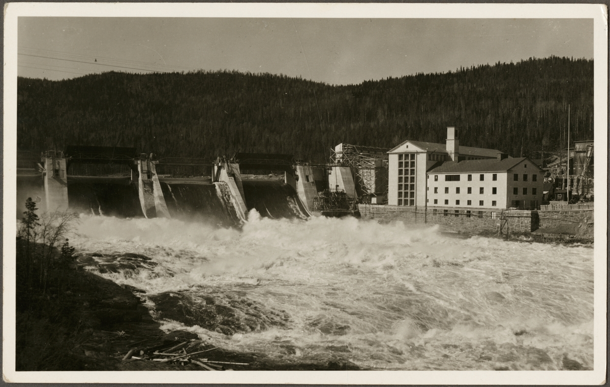 Krångede kraftverk i Indalsälven.