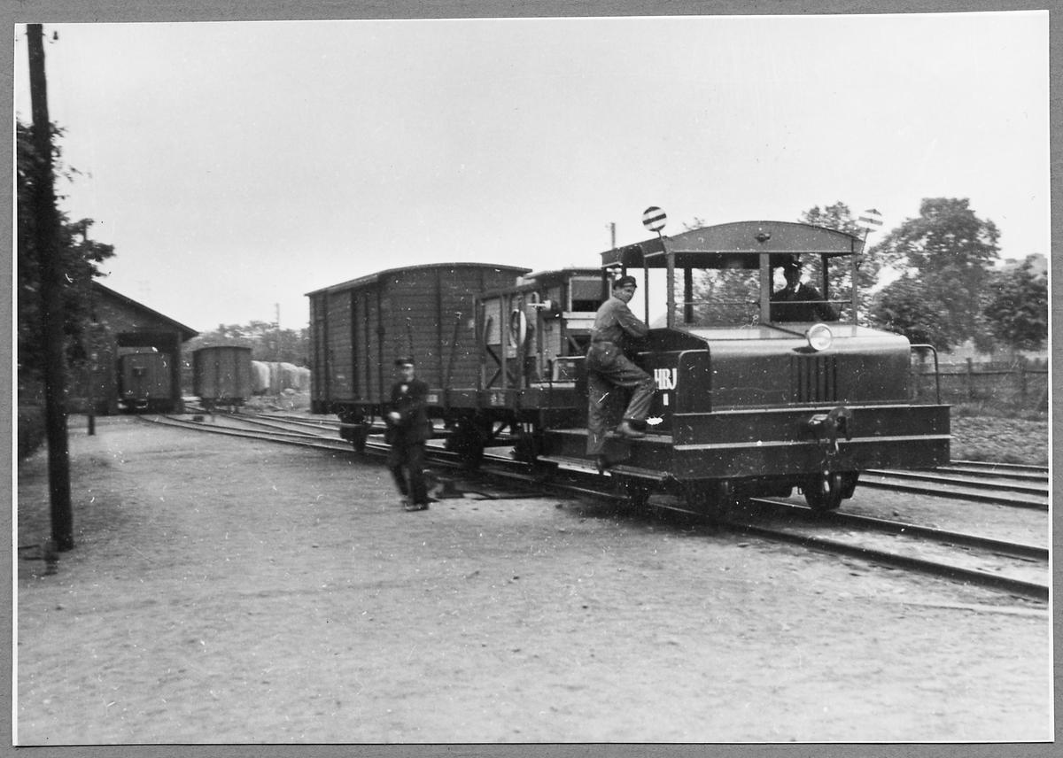 Halmstad - Bolmens Järnväg, HBJ lokomotor 11.