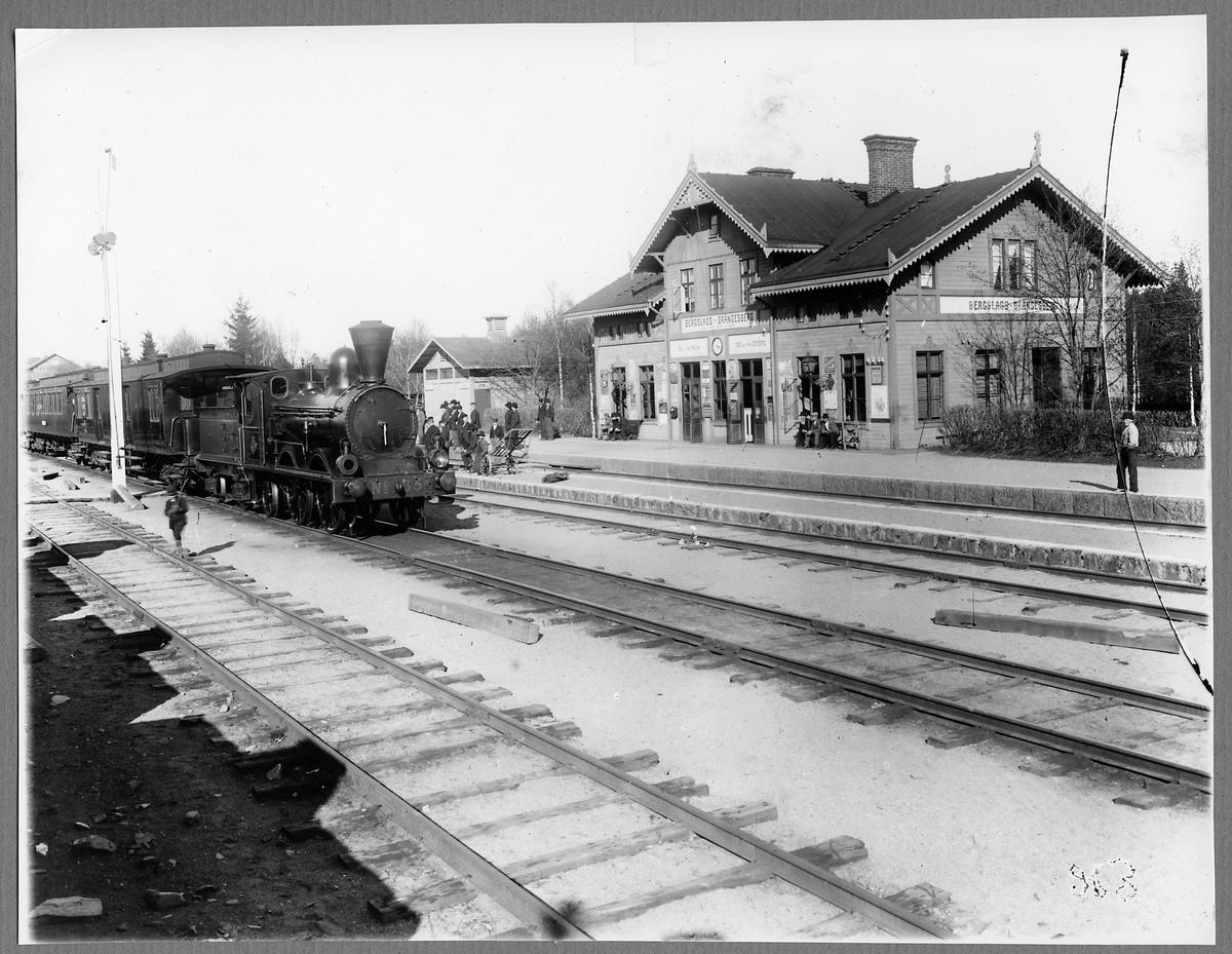 Bergslags-Grängesberg station.