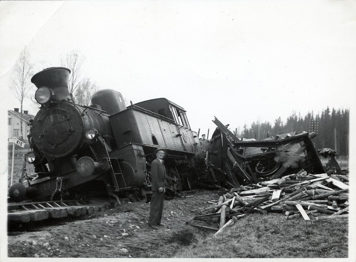 Nora Bergslags Järnväg, NBsJ lok 19.