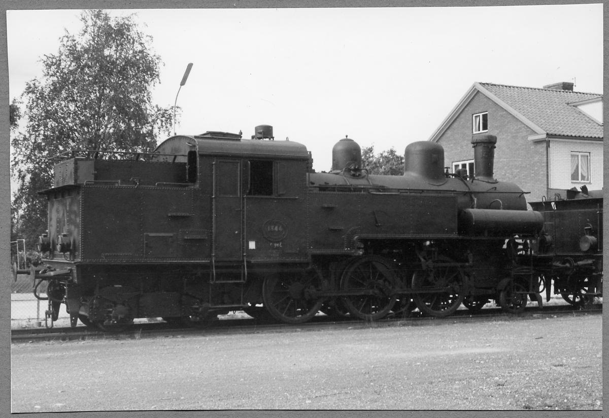 Statens Järnvägar, SJ J 1344 i Vislanda 1969.