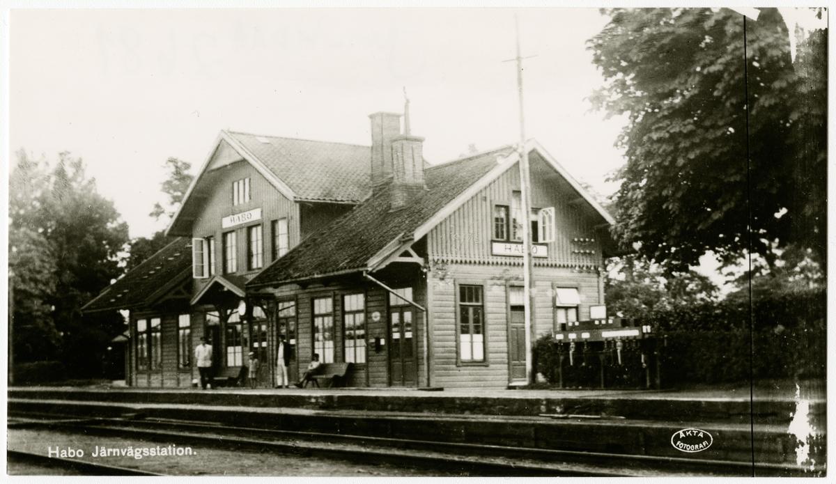 Stationshuset revs 1950
