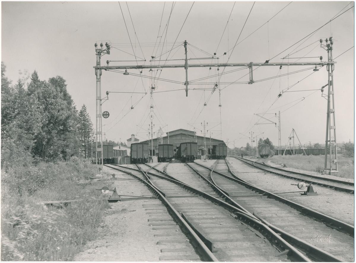 Gamla stationsmagasinet i Hallsberg.
