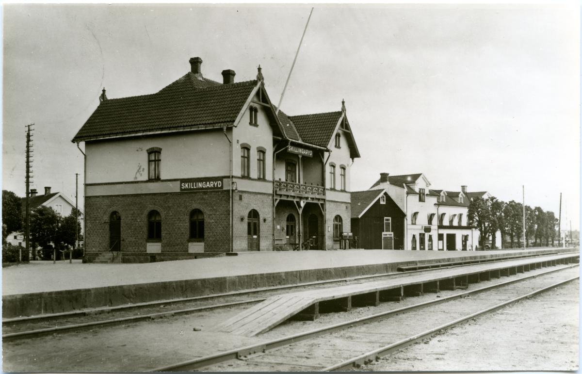 Skillingaryds station.