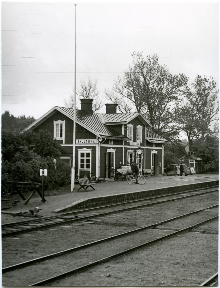 Skultuna station.