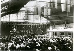 Invigning av Trelleborg banhall 1899.