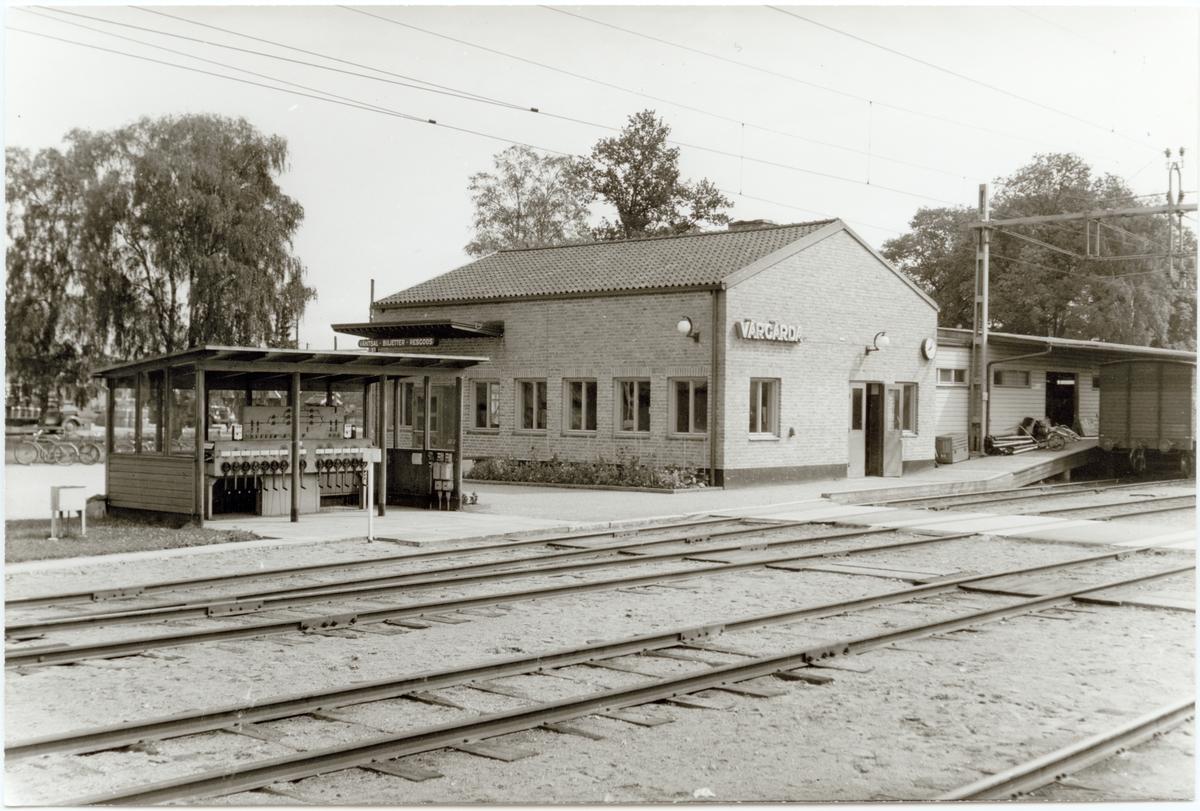 Vårgårda stationshus.