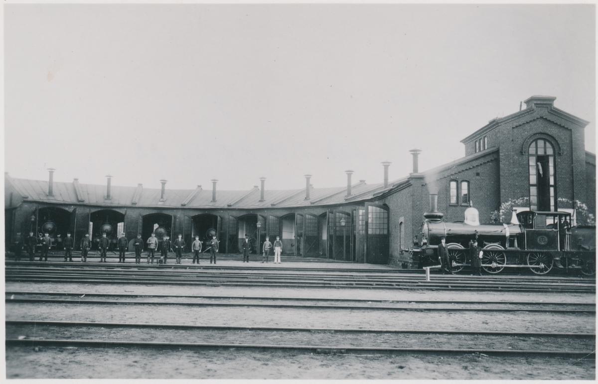 Örebro. Statens Järnvägar, SJ. SJ Hd  22. Eldrift 1932.