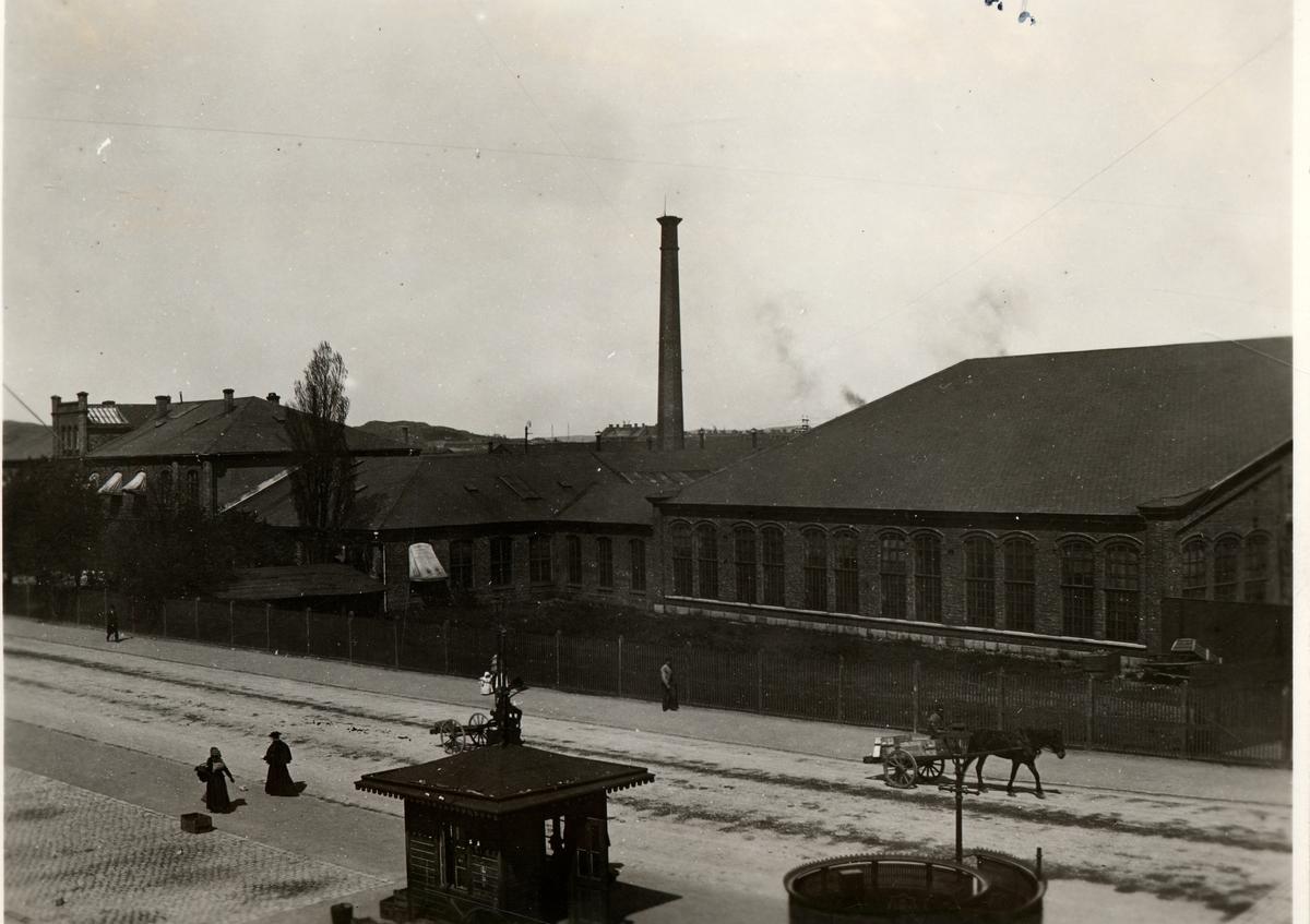 Gamla järnvägsverkstaden och driftverkstaden i Göteborg Dc , Distriktschef Ekman