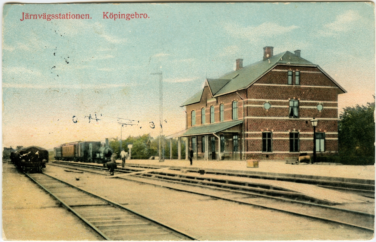 Köpingebro station