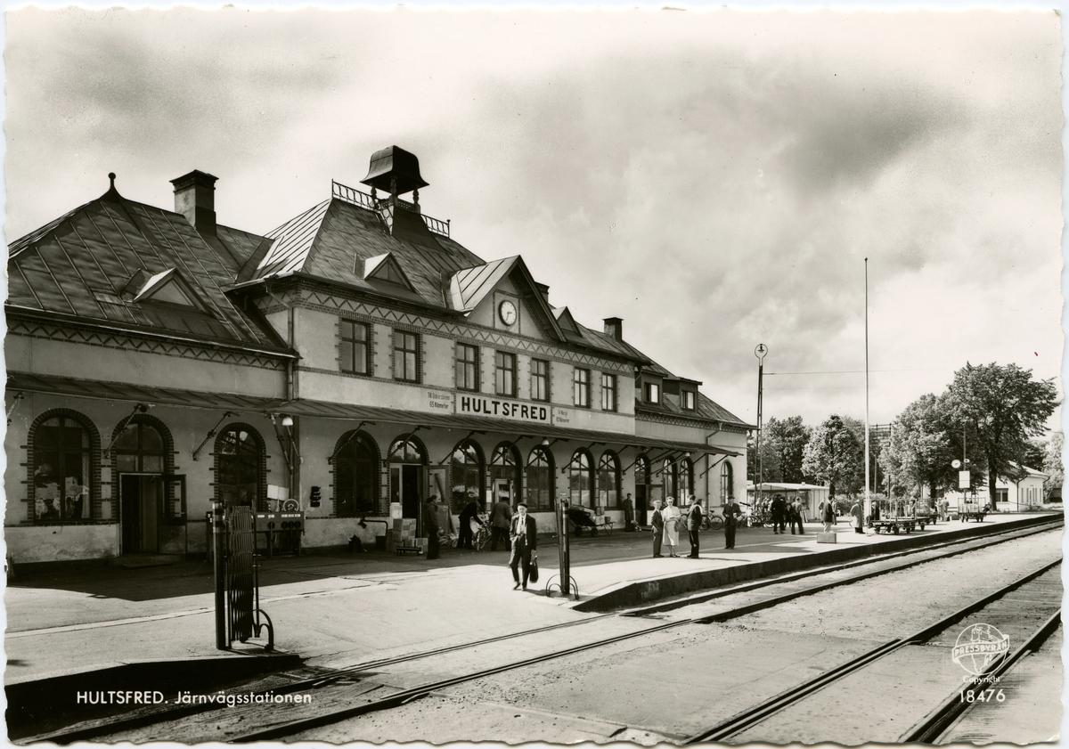 Hultfreds Station.